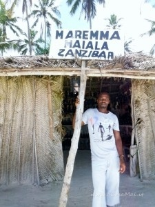 negoziante a Kiwengwa beach