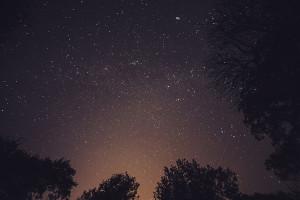 Cielo pieno di stelle