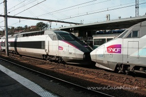 Treno TVG Francia
