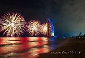 Burj Al Arab di notte