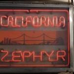 Insegna California Zephyr