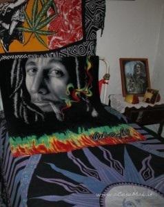 Letto di Bob Marley