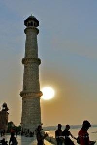 Minaretto del Taj Mahal