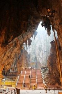 dentro Batu Caves
