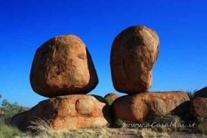 Two Devils Marbles. Australia