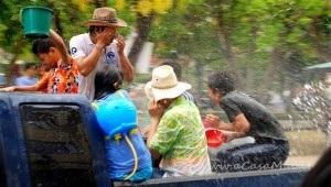 secchiate al Songkran