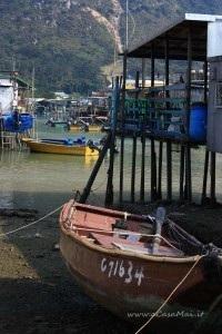 Boat of Tai O, Cina