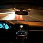 Guida con volante a destra