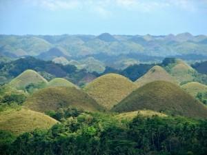 Chocolate Hills, Filippine