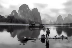 Guilin li river, Cina