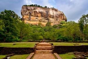 Roccia di Sigiriya, Sri Lanka