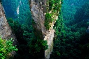 Zhangjiajie National forest Park, Cina