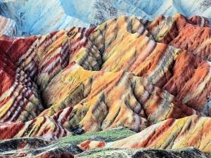 Zhangye Danxia geopark, Cina