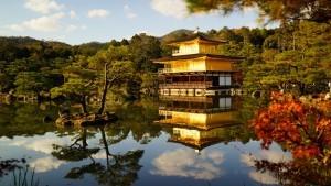 Kinkakuji in autunno