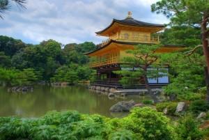 vista del Kinkakuji, Kyoto