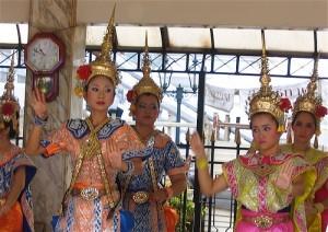 Ballerine all'Erawan Shrine, Bangkok