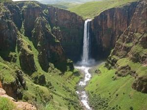 Cascate Maletsunyane, Lesotho