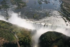 Cascate Vittoria, Zambia e Zimbabwe
