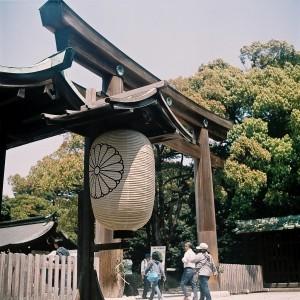 Entrata al Meiji Jingu, Tokyo