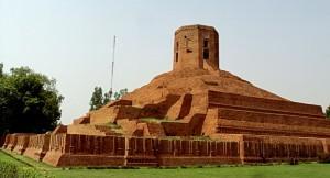 La stupa di Stupa, Sarnath