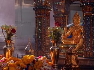 Statua all'Erawan Shrine, Bangkok2