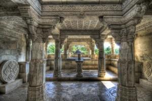 Tempio jainista di Ranakpur, India