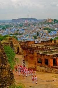 Vista di Jodhpur, India