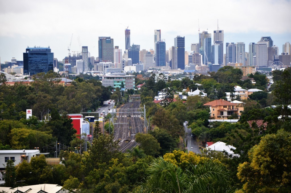 Brisbane, panoramica della città