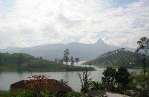 Adam's peak in lontananza, Sri Lanka