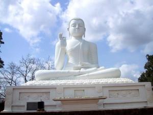 Buddha a Mihintale, Sri Lanka