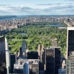 Spazi verdi nella grande metropoli di New York