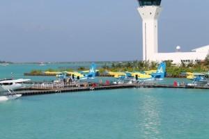 Luogo di partenza degli idrovolanti alle Maldive