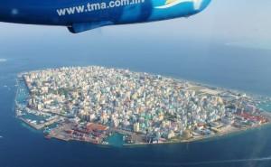 Malè dall'alto, Maldive