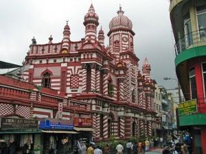Moschea a Colombo, Sri Lanka