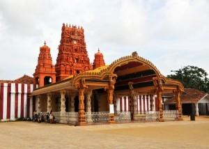 Nallur Kandasamy Temple a Jaffna, Sri Lanka