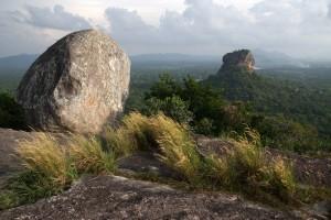Sigiriya in lontananza, Sri Lanka