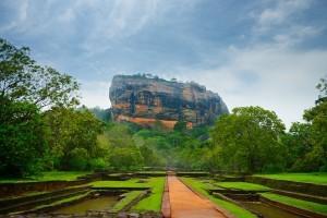 Sigiriya rocca, Sri Lanka