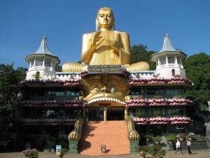 Tempio di Dambulla, Sri Lanka