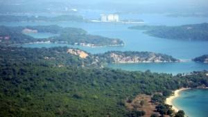 Trincomalee bay, Sri Lanka