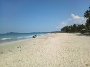 Uppuveli beach a Trincomalee, Sri Lanka