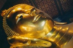 Bangkok, Wat Pho, reclining Buddha