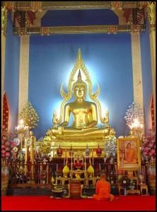 Phra Buddha Jinaraj al wat Benchamabophit, Bangkok