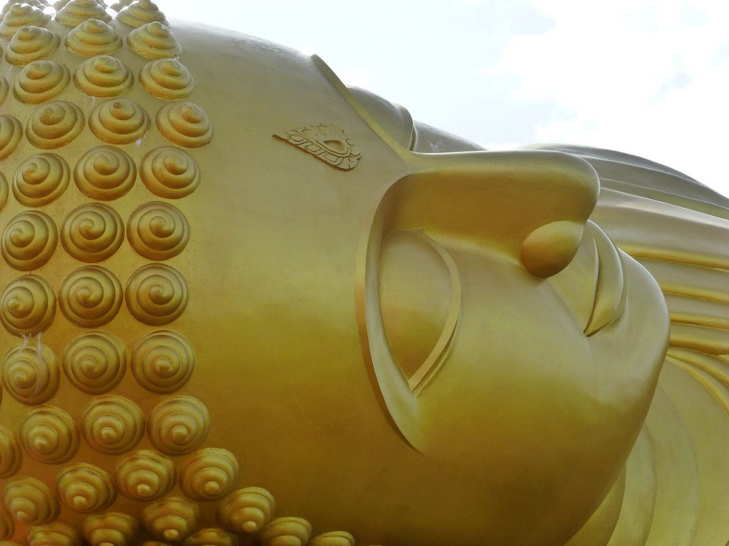 Wat Phranon Laem Pho Reclining Buddha Ko Yo 3, Thailandia