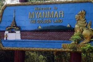 Cartello Myanmar the golden land, Myanmar