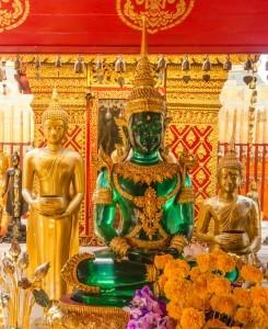 Emerald Buddha al Wat Phrathat Doi Suthep 2, Chiang Mai, Thailandia