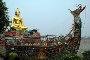 Golden Buddha al Triangolo d'oro 2, Thailandia