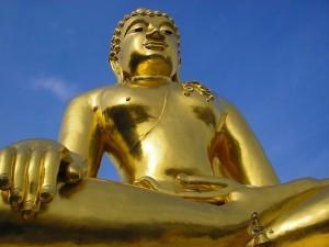 Golden Buddha al Triangolo d'oro 1, Thailandia