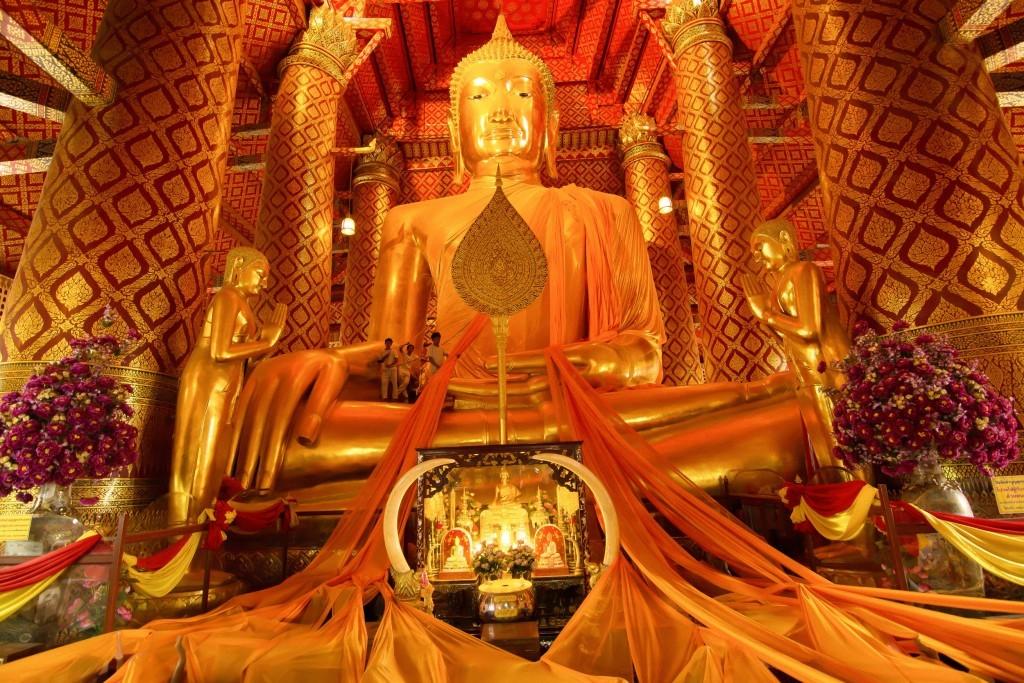 Wat Phananchoeng Temple 3, Ayutthaya, Thailandia