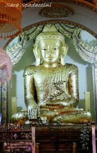 Buddha alle colline di Inthein, lago Inle