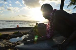 Waikiki beach (Oahu)